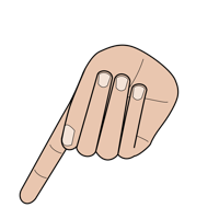 Trope Hand Signal